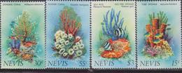 Nevis - Marine Life Corals Set MNH - Francobolli