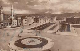 Tirana - Piazza Scanderbe , Mosque - Albania
