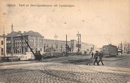 Parti Av Järnvägsstationen Vid Upsalavägen Malmö SWEDEN - Suède