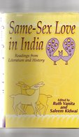 Ruth Vanita And Saleem Kidwai Same-Sex Love In India Readings From Literature And History. - Geschiedenis