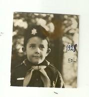 """3545 """"BALILLA ROLANDO MUSSO IL 4 DICEMBRE 1928"""" ORIGINALE - Persone Identificate"""