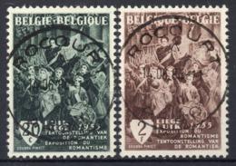 BELGIE: COB 971/972 Zeer Mooi Gestempeld. - Used Stamps