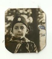 """3546 """"BALILLA DANILO MUSSO IL 4 DICEMBRE 1928"""" ORIGINALE - Persone Identificate"""