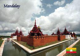 1 AK Myanmar * Eine Klosteranlage In Der Stadt Mandalay * - Myanmar (Burma)