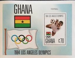 Ghana  1984 Summer Olympics S/S - Ghana (1957-...)