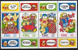Ireland 1996 Greetings Stamps Booklet Pane, MNH, SG 982/5 - 1949-... Republic Of Ireland