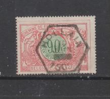 COB 40 Oblitération Centrale HOLLAIN Sans L'heure - 1895-1913