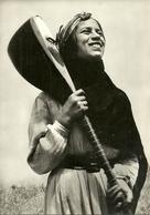 Lebanon, A Woman Singer In Costume, Chanteuse En Costume - Libano