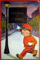 RICORDO DI SAN REMO - CARTE A SUYSTEME CONTENANT 10 VUES - 2 SCANS - San Remo