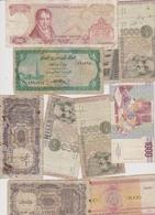 Lot De 10 Billets étrangers A Identifier - Banconote