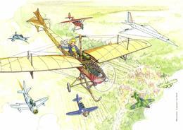 De Bourg à Vatry - Histoire De L'aéronautique Dans La Marne - Francia
