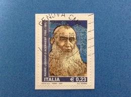 2007 ITALIA FRANCOBOLLO USATO STAMP USED PADRE LODOVICO ACERNESE - 6. 1946-.. Repubblica