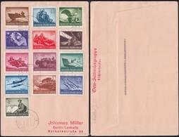 Germany - DR MiNr. 873-885 MiF. Hain Im Riesengebirge (Karkonosze, Poland) 3.4.1944 - Berlin. - Duitsland