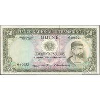 TWN - PORTUGUESE GUINEA 44a4 - 50 Escudos 17.12.1971 Signatures: Machado & Fernandes UNC - Banconote