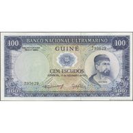 TWN - PORTUGUESE GUINEA 45a4 - 100 Escudos 17.12.1971 Signatures: Machado & Gaivão UNC - Billetes