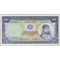 TWN - PORTUGUESE GUINEA 45a4 - 100 Escudos 17.12.1971 Signatures: Machado & Gaivão UNC - Banconote