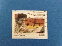 2006 ITALIA FRANCOBOLLO USATO STAMP USED CRISTOFORO COLOMBO - 6. 1946-.. Repubblica