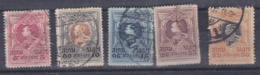 SIAM :   No  160 à 164  Oblitéré Cote  5,50  € - Siam