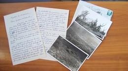 """Courrier """"nouvelles D'Agadir"""" 1955 - Invasion De Sauterelles - 3 Photos - Africa"""