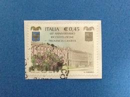 2005 ITALIA FRANCOBOLLO USATO STAMP USED PROVINCIA DI CASERTA - 6. 1946-.. Repubblica