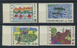 Grèce 1967 Mi. 962-965 Neuf ** 100% Dessins Puérils - Grèce