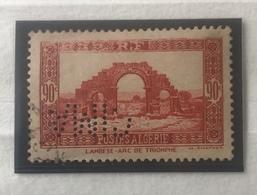 Perforé Perfin Algérie, YT 115 Voir Images - Algeria (1924-1962)