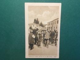 Cartolina Prodomi Di Conflitto Incruento Per Un Soldo Italiano Valona - 1930 Ca. - Cartoline
