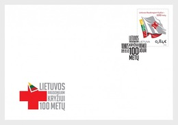 Litouwen / Lithuania - Postfris / MNH - FDC Rode Kruis 2019 - Litouwen