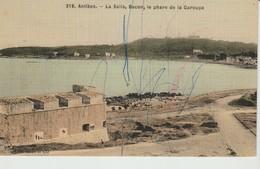 C.P.A. - ANTIBES - LA SALIS - BACON - LE PHARE DE LA GAROUPE - 318 - H. B. - Antibes