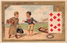 Playing Cards  Chocolat Guerin Boutron - Jeux Et Jouets