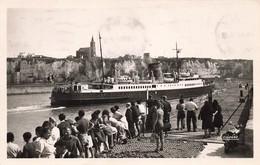 76 Dieppe Arrivée De La Malle Bateau Paquebot Cachet 1950 - Dieppe