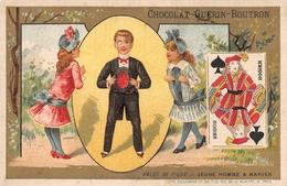 Playing Cards  Chocolat Guerin Boutron -Jeune Homme A Marier - Jeux Et Jouets