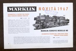Catalogo Modellismo Ferroviario - Marklin Novità 1967 I - Libri, Riviste, Fumetti