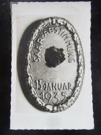Postkarte Propaganda Saarabstimmung 1935 Saar - Briefe U. Dokumente