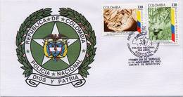 Lote 2002-3F, Colombia, 1995, SPD - FDC, Policia Nacional, Police - Colombia
