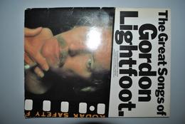 Partition Gordon Lightfoot Etat Correct Vente En Belgique Uniquement Envoi Bpost 2,50 € - Musique & Instruments