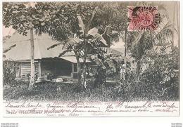 CPA SURINAM KOELITEMPEL GROOT CHATILLON TRES RARE BELLE CARTE !! - Suriname