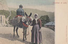 Venditori Di Latte , Italy , 00-10s ; Donkey - Italy