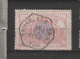 COB 35 Oblitération Centrale BRUXELLES (A.V.) - 1895-1913