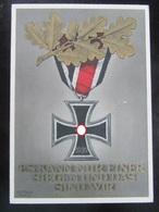 Postkarte Propaganda EK2 Mit Zudruck 1940 - Deutschland