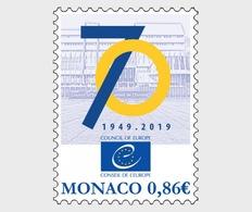 Monaco - Postfris / MNH - 70 Jaar Europese Raad 2019 - Monaco