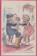 ILLUSTRATEUR--BOURET G---J'te Souhaite Une Bonne Année Nénette ,J'tacherai De Faire Mieux La Prochaine Fois !... - Bouret, Germaine