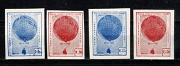 Belg. 1937 E 15/18** MNH Ongetand / Non Dentelés - Int. Gordon-Bennett Beker / Coupe Int. Gordon Bennett - Commemorative Labels