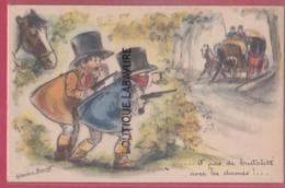 ILLUSTRATEUR--BOURET G---Et Pas De Brutalité Avec Les Dames !... - Bouret, Germaine
