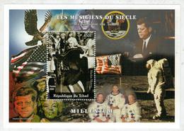 REPUBLIQUE  DU  TCHAD       MILLENIUM       MARILYN  MONROE            S.SHEET   (1 MNH ) - Chad (1960-...)