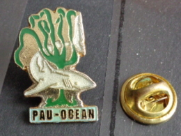PIN'S  PAU - OCEAN - Villes