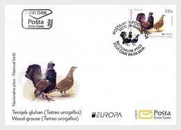 Montenegro - Postfris / MNH - FDC Europa, Vogels 2019 - Montenegro