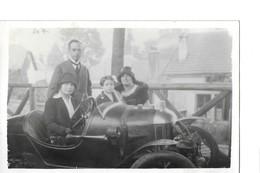 CPA - PHOTO - UNE AUTOMOBILE - 1928 - Turismo