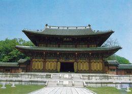 1 AK Südkorea * Die Audienzhalle Injeongjeon Im Palast Changdeokgung (Königspalast In Seoul) - Seit 1997 UNESCO Erbe * - Korea, South