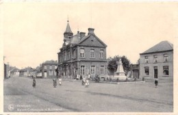 BELGIQUE Belgium ( Hainault ) BERNISSART : Maison Communale Et Monument - CPA - Belgien België - Bernissart
